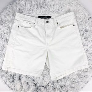 Calvin Klein Jeans White Vintage Mom Jean Shorts